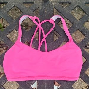 Lululemon Pink Sports Bra